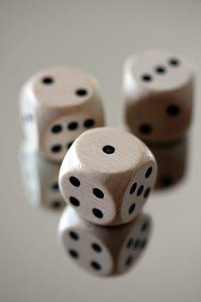 Cube, Gamble, Gambling, Luck, Risk, Casino, Opportunity