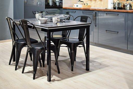 Modern Kitchen, Furniture, Chair, Room, Modern, Inside