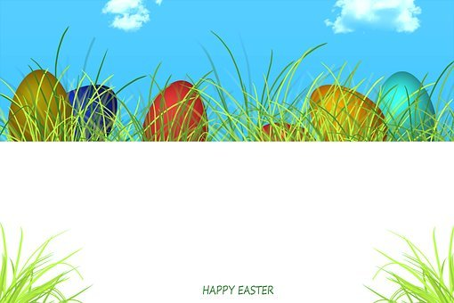 Illustrated Easter, Easter Background, Grass, Nature
