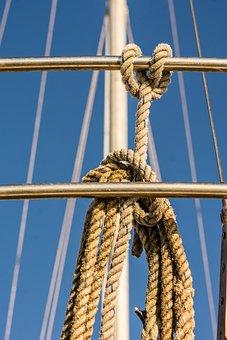 Rope, Nautical, Yacht, Sail, Sailboat, Knot, Ship, Mast