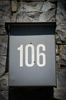 Mail Box, Number, Figure, News, Letter, Bill, Address