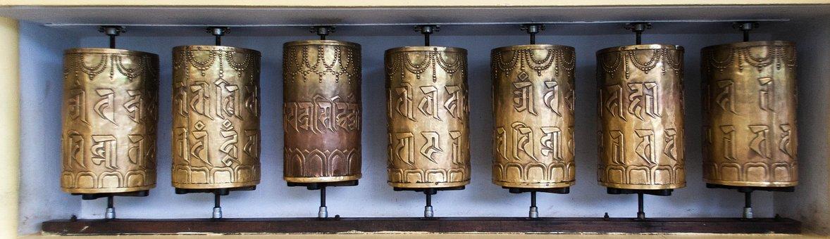 Old, Antique, Culture, Style, Copper, Vintage, Tibetan
