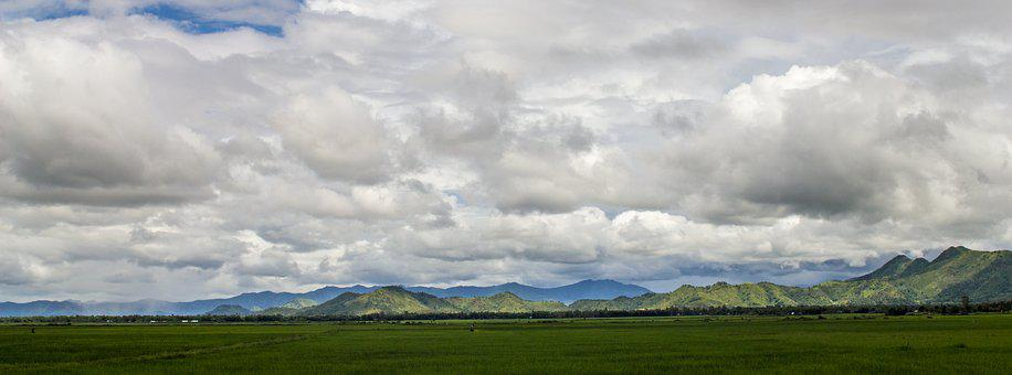 Panoramic, Nature, Landscape, Outdoors, Sky, Cloud