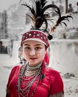 People, Portrait, Veil, Wear, Winter, Traditional