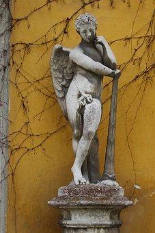 Sculpture, Art, Statue, Religion, Antiquity, Angel