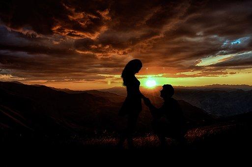 Sunset, Dusk, Evening, Dawn, Backlit, Silhouette