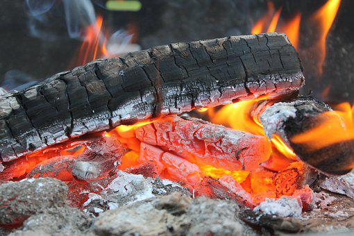 Flare-up, Carbon, Heat, Hot, Burn, Campfire, Smoke, Ash