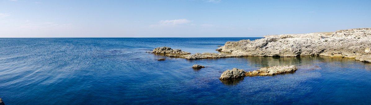 Water, Panoramic, Nature, Sea, Sky, Beach, Summer