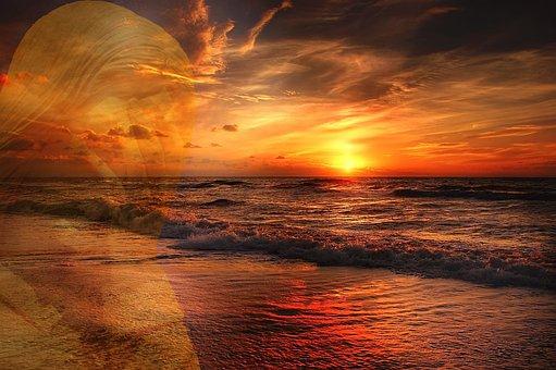 Pollution, Waters, Sun, Sea