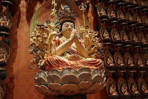 Religion, Buddha, Temple, Spirituality, Art, Sculpture