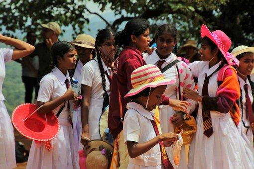 Students, Sri Lanka, Tour, Total, Adventure, Hats