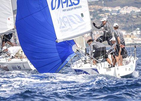Sailboat, Sail, Yacht, Water, Sea, Ocean, Vacation
