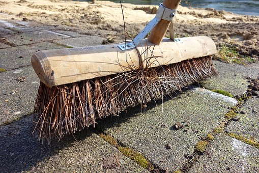 Broom, Bristle, Handle, Broomstick, Wood, Sweep