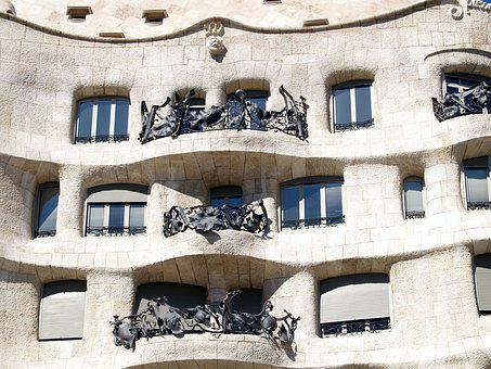 Gaudi, Architecture, Spain, Europe, Barcelona