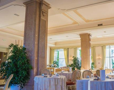 Villa Cortine Palace, Breakfast Room, Restaurant