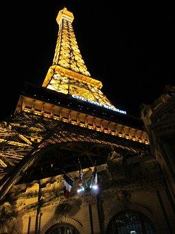 Las Vegas, Strip, Paris Hotel, Casino, Tour Eiffel Fake