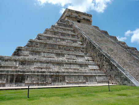 Mexico, Pyramid, Maya, Chichen Itza
