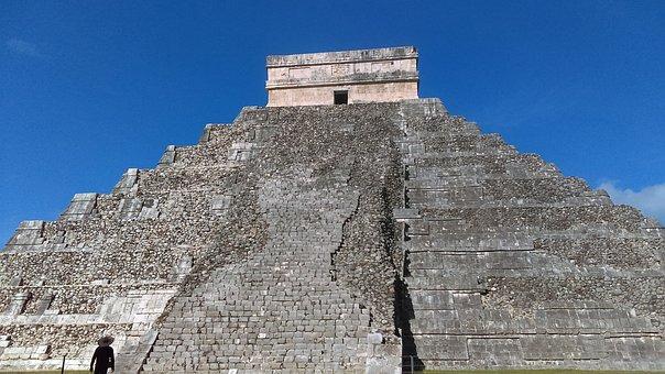 Chichen Itza, Pyramid, Mexico, Temple, Aztec