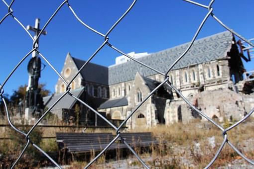Christchurch, Cathedral, Recover, Rebuild, Colorful
