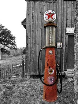 Texaxo, Pump, Vintage, Classic, Classic Cars, Car