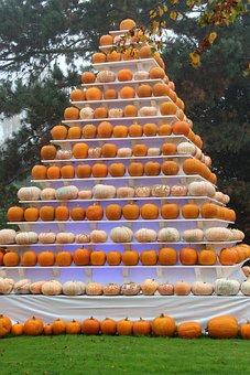 Autumn, Pyramid, Pumpkin, Halloween, Deco, Europa Park
