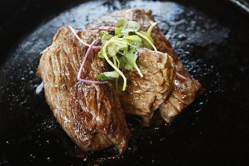Food, Steak, Restaurant, Meat, Dining, Dinner