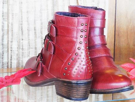 Leather, Boots, Footwear, Fashion, Female, Shoes, Foot