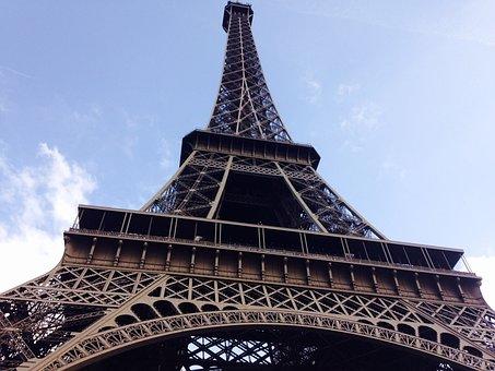 Paris, Eiffel Tower, Tower, France, Eiffel