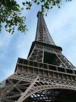Paris, Eiffel Tower, Tower, Eiffel, France