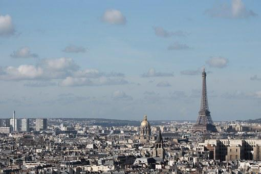 Paris, France, Europe, French, Architecture, Tower