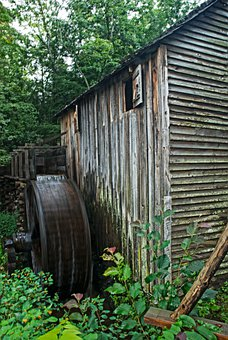Mill, Grist, Cabin, Rustic, Historical, Barn, Buildings