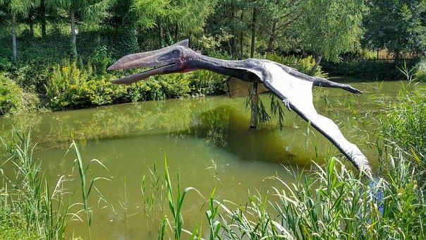 Balts, Jurassic Park, Pterosaur, Dinosaur, Mockup
