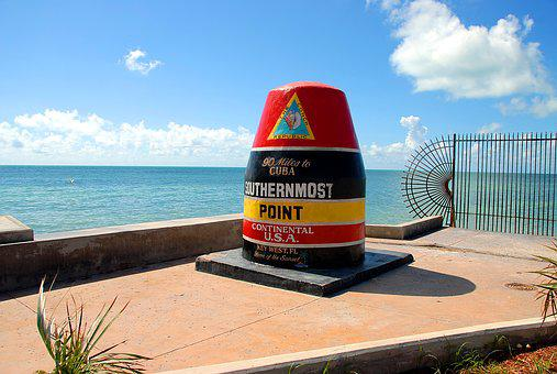 Southern Most Point, Key West, Florida, South, Southern