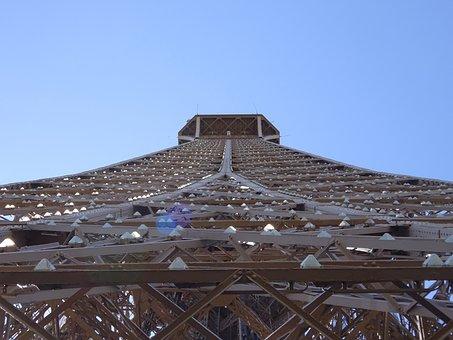Eiffel Tower, Tour Eiffel, Paris, France, Landmark