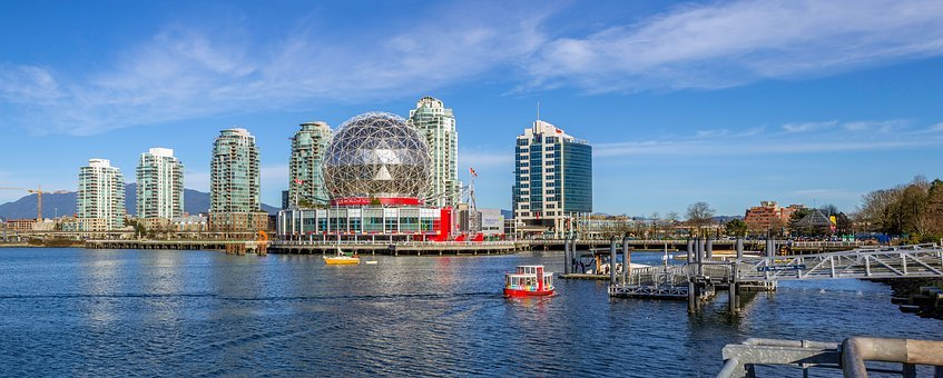 Vancouver, British Columbia, Canada, Landscape, Summer