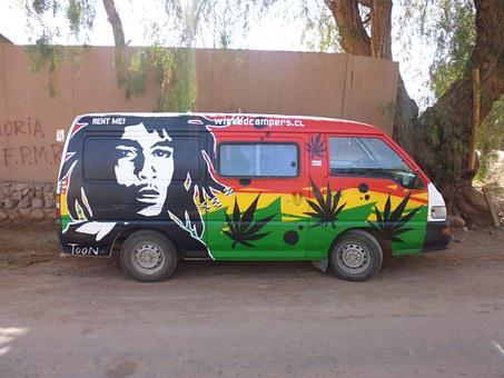 Hippie, Bob Marley, Marijuana, Drugs, Psychedelic