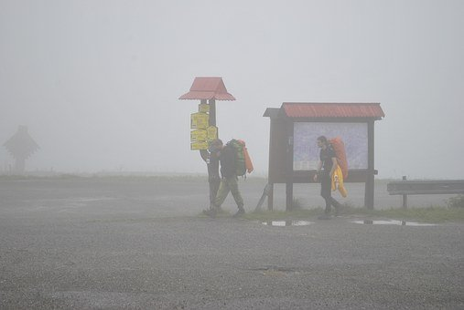 Mountain, Fog, Field, Cloud, Mountains, Tatra Mountains