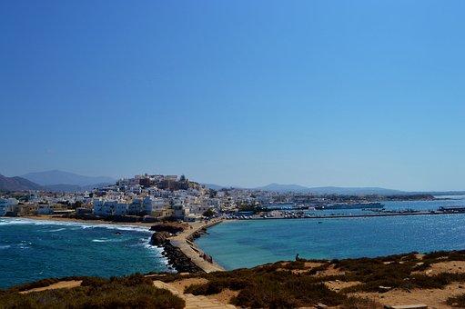 Naxos Town, Greece, Naxos, Cyclades, Town, Tourism