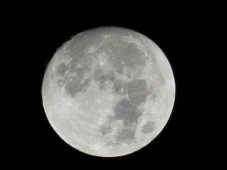 Moon, Night, Moonlight, Space, Universe, Night Sky, Sky