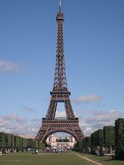 Eiffel Tower, Paris, France, Landmark, Europe, French