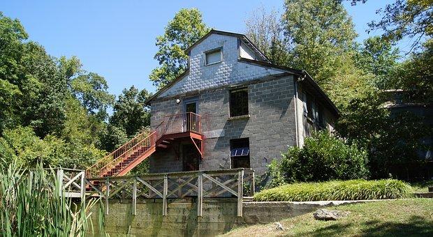 Mill, Old, Quaint, Architecture, Building, Picturesque