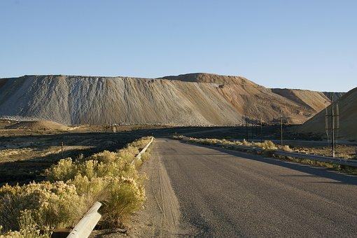 Mine, Tailings, Nevada, Pit, Exploitation, Hill