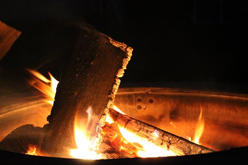 Fire, Pit, Flame, Burning Wood, Flames, Bonfire, Hot