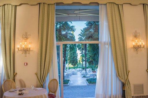 Villa Cortine Palace, Breakfast Room, Restaurant, View