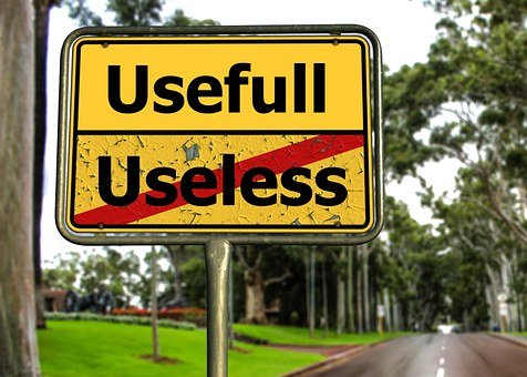 Town Sign, Road, Useful, Use, Usefulness, Useless, Not