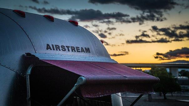 Airstream, Rv, Camping, Recreational Vehicle, Trailer