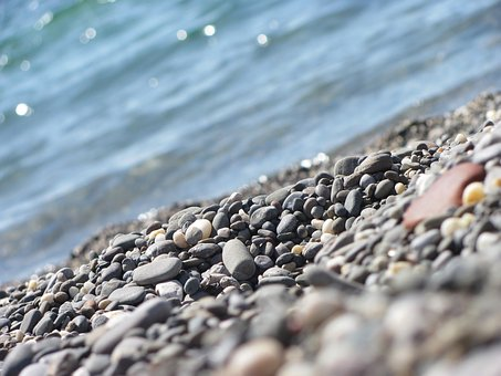 Crimea, Sea, Stones, Black Sea, Beach, Summer