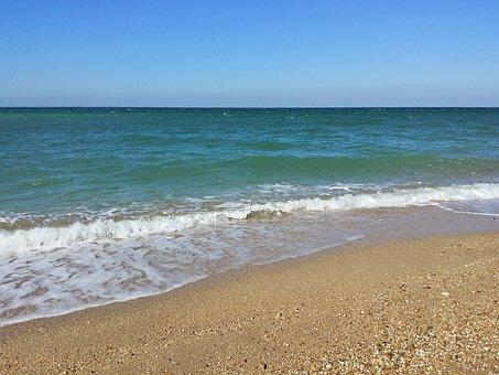 Beach, Sevastopol, Crimea, Sea
