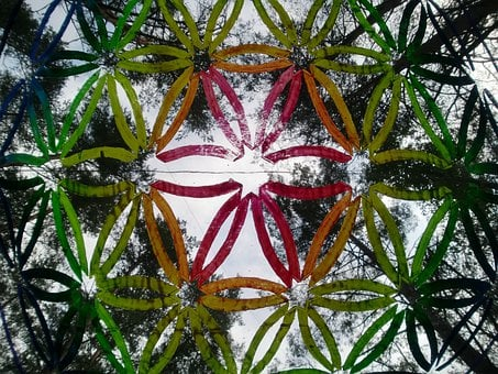 Flower Of Life, Sky, Art, Psychedelic, Nature