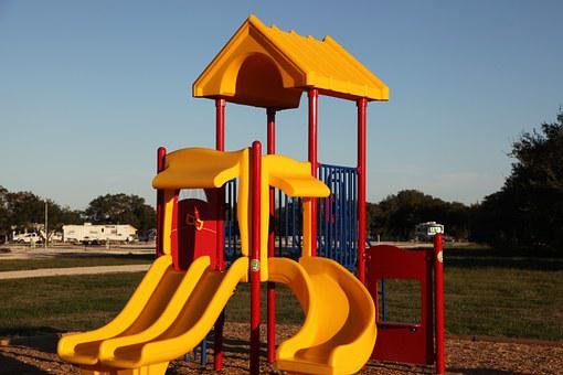 Playground, Slide, Play, Kids, Fun, Recreation, Outdoor